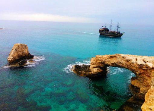 голубые лагуны Кипра
