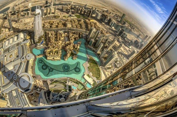 Площади Дубай Молл