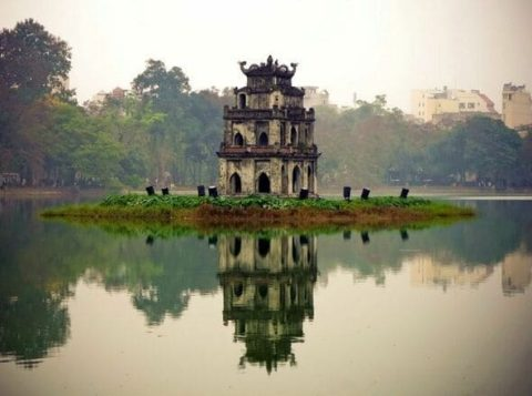 поездка в Ханой