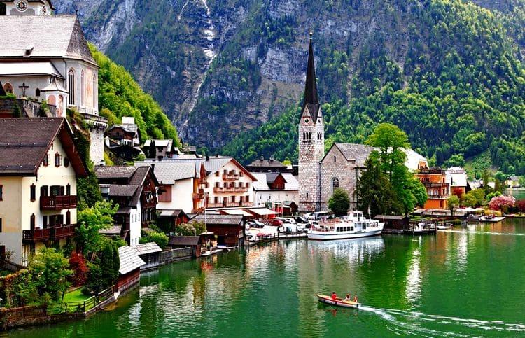 самостоятельное путешествие в Австрию