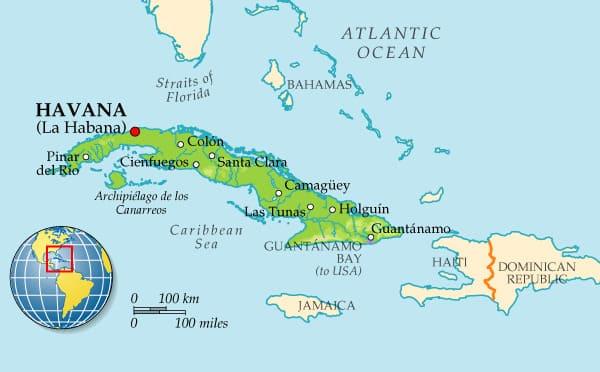 купить страховку для въезда на Кубу