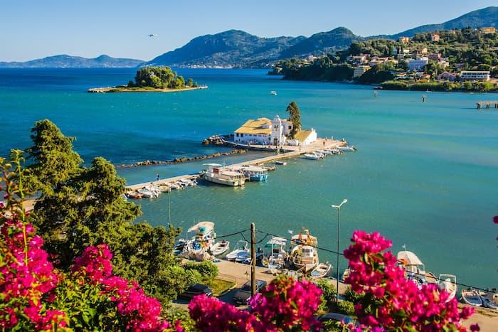 достопримечательности острова Корфу
