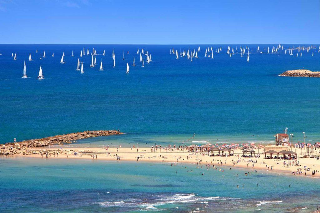 отдых на средиземном море в Израиле