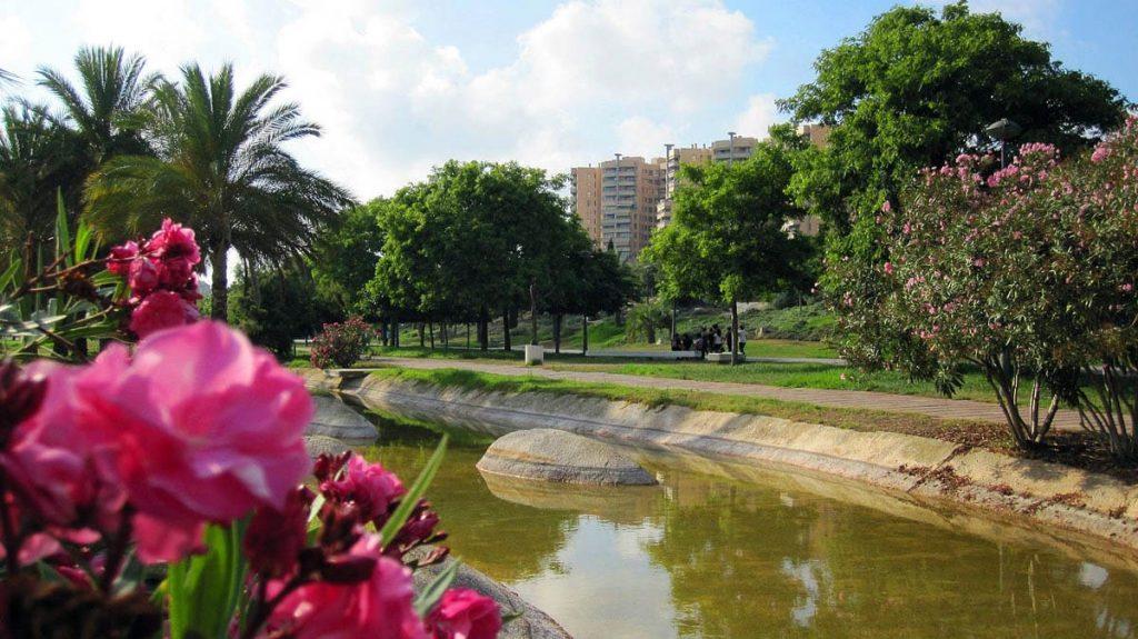 Валенсия - русло реки Туя