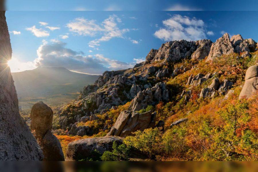 отдых в Крыму - долина приведений