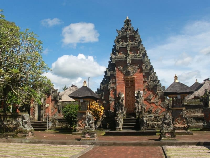 главные храмы Бали