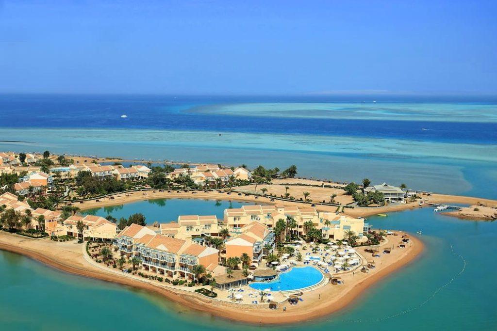 необычного для Египта курорта