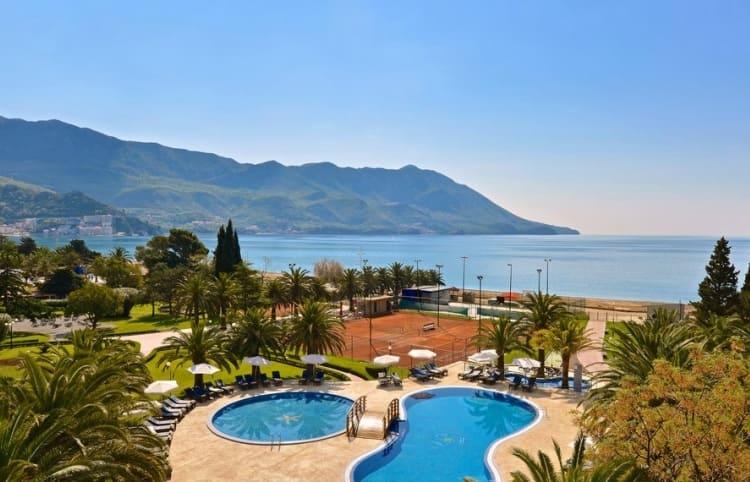 Отели для отдыха с детьми в Черногории