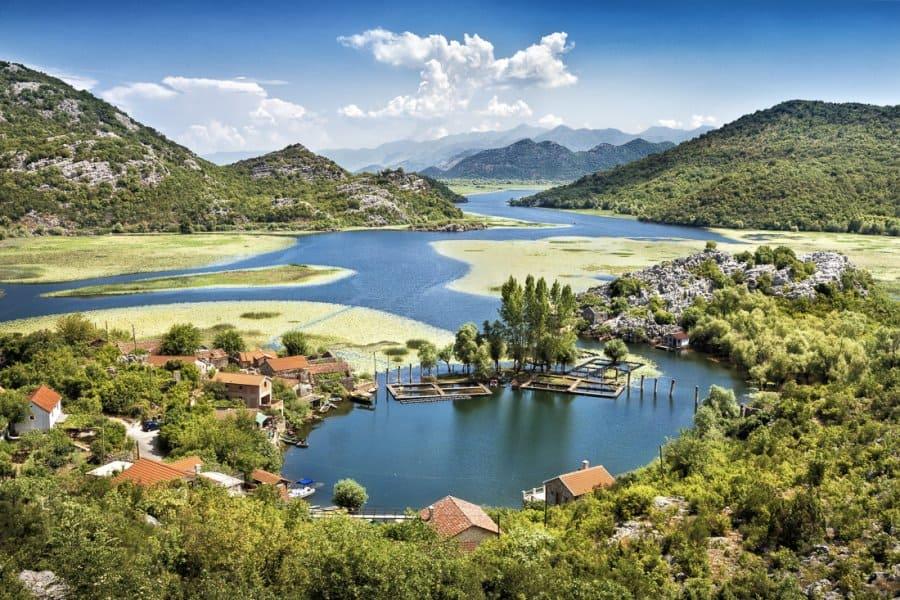 отправиться на Скадарское озеро Черногория