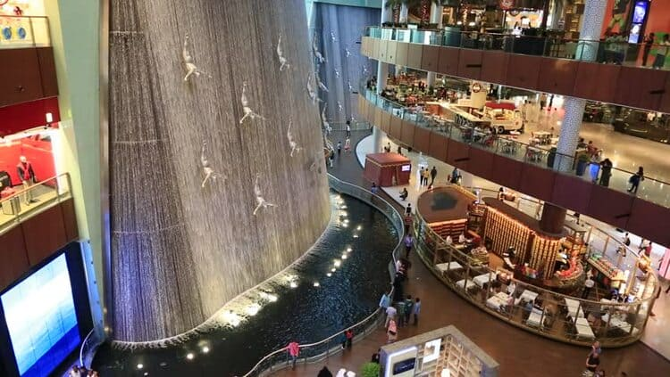 торговый центр Дубай Молл