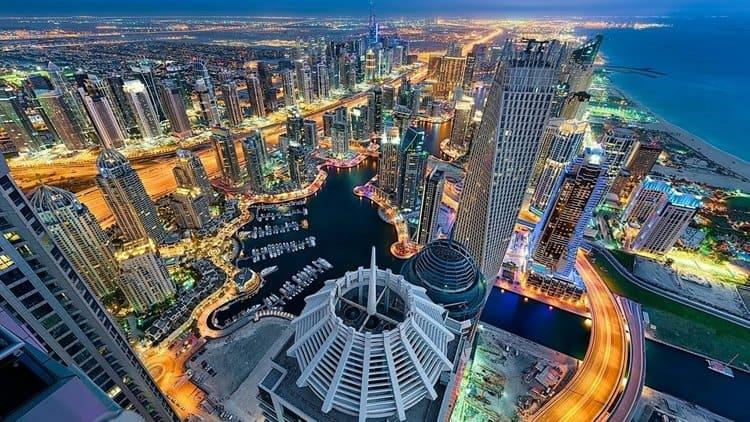 отели, пляжи в Дубае