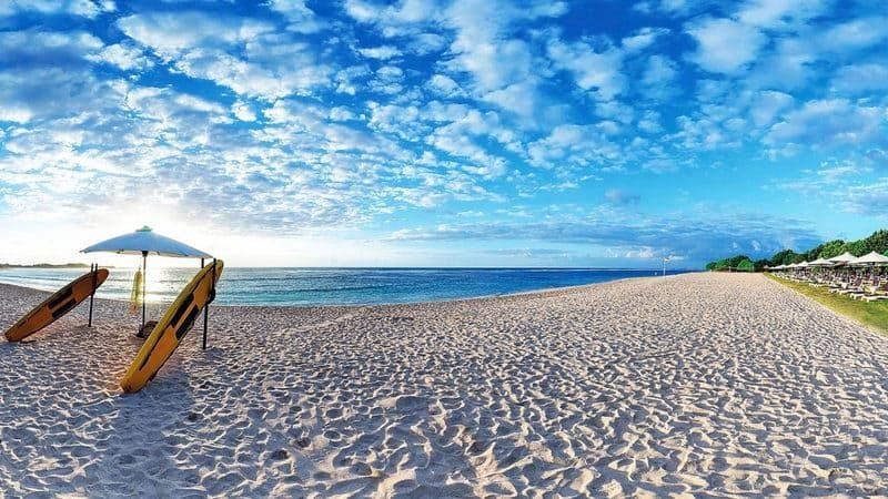 Индонезия пляжный отдых