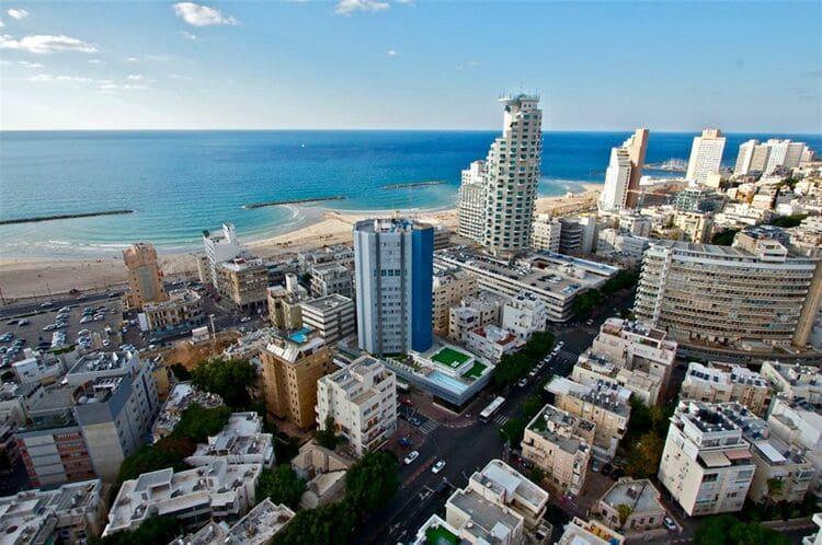 сезон отдыха в Тель Авиве