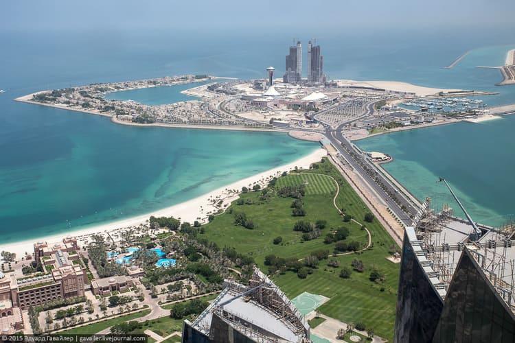 лучший отдых в эмирате Абу Даби
