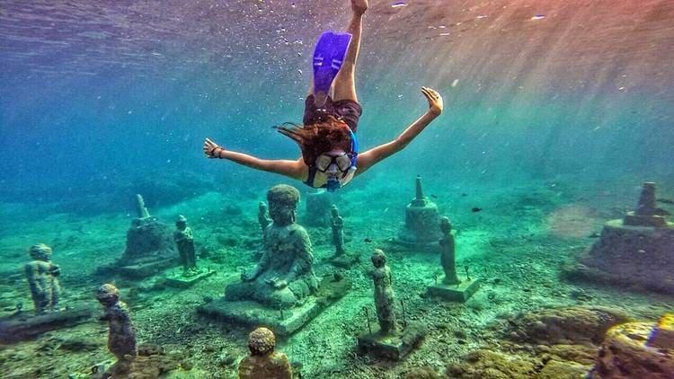 маста для лучшего снорклинга на Бали