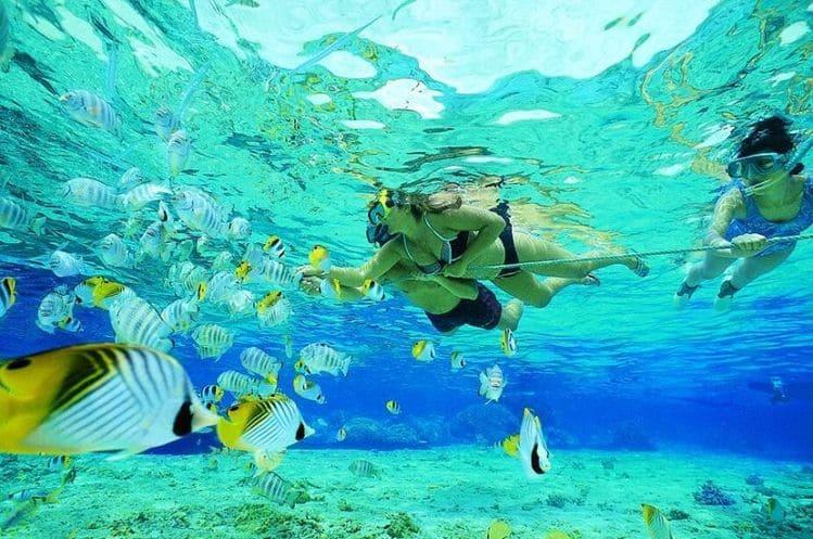 где заняться снорклингом на Бали