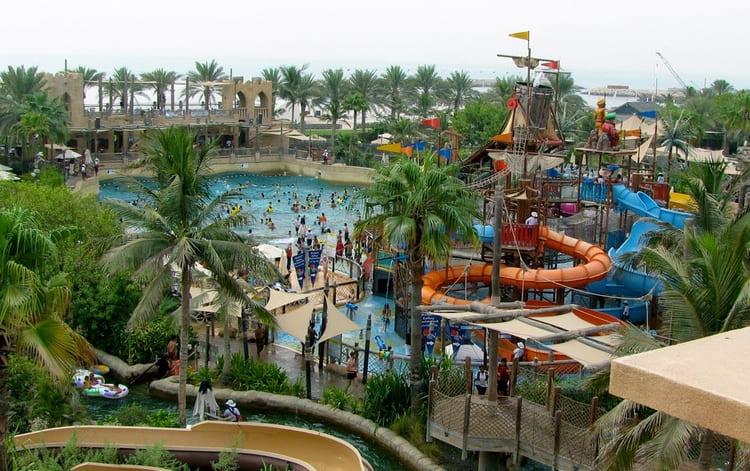 парк развлечений Уондерленд в районе Джумейра