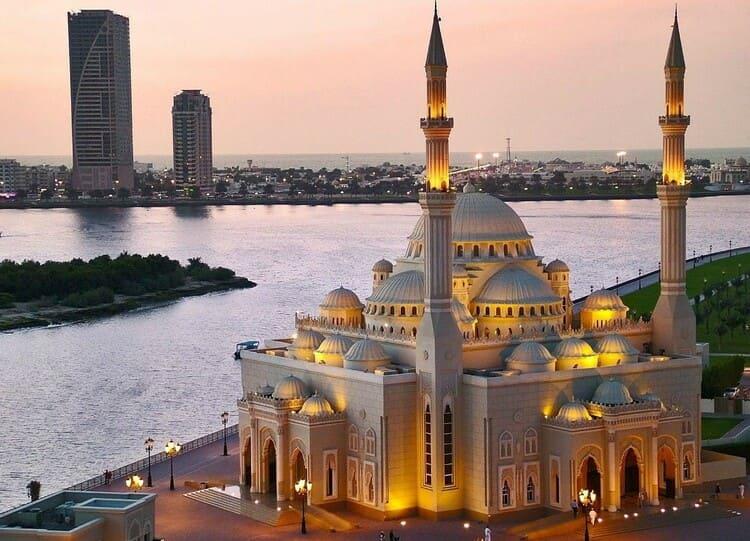 мечеть в районе Джумейра - Дубай