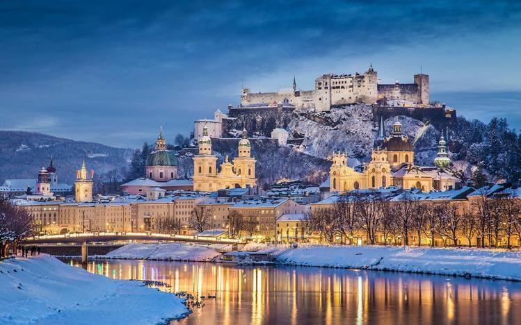 путешествие по Австрии - город Зальцбург