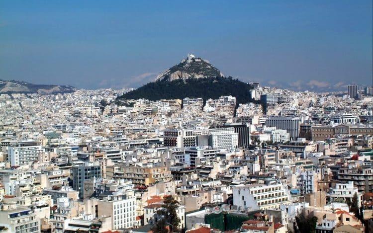 путешествие в Афины Греция