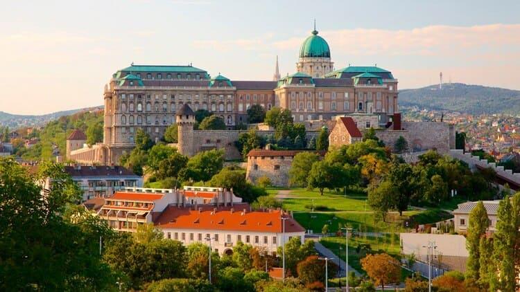 Будайская крепость самостоятельно - Будапешт