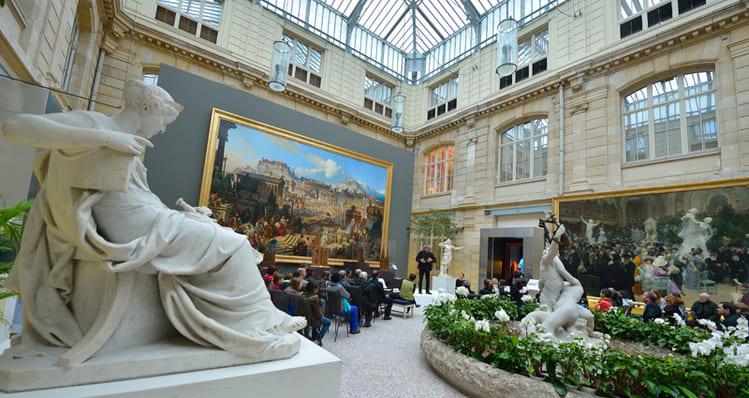 музей изящных искусств в городе Руан