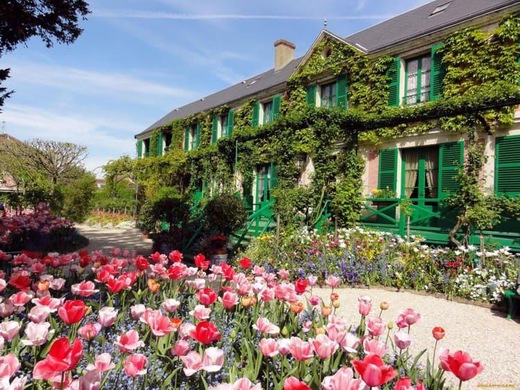 дом с сад Клода Моне в Живерни