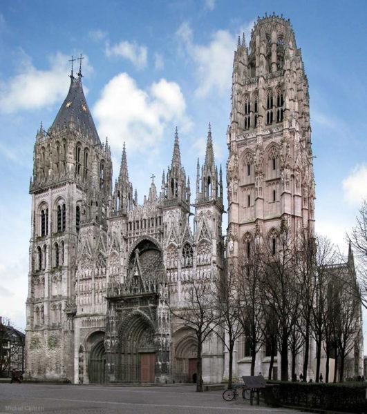 Руанский собор в Нормандии